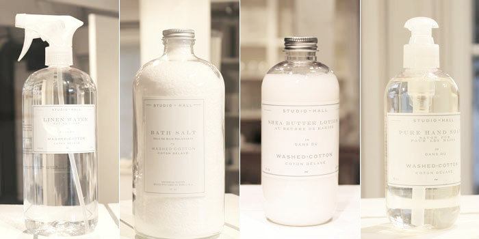 K Hall Designs bath salts, soaps and frangrance